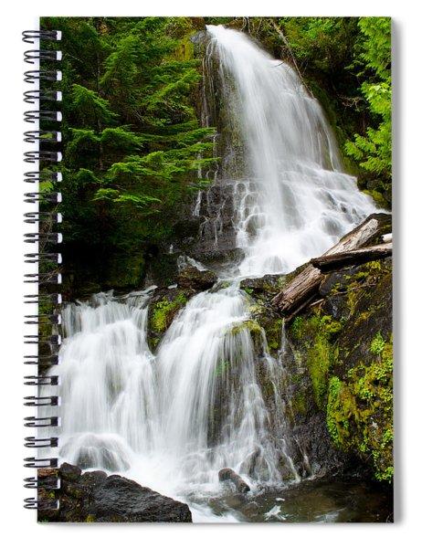 Cougar Falls Spiral Notebook