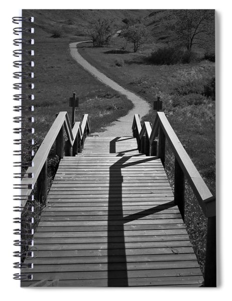 Coulee Stairs Spiral Notebook