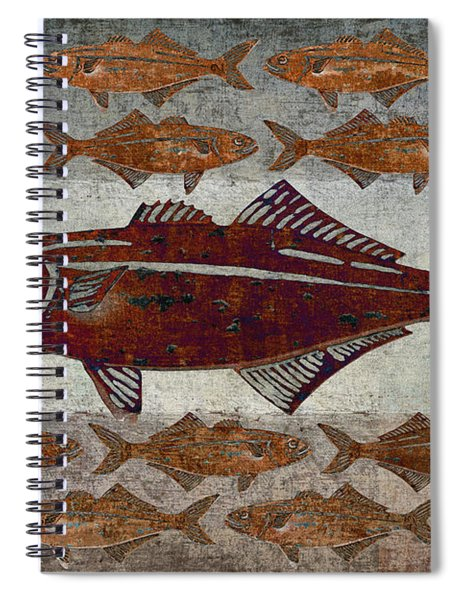 Counting Fish Spiral Notebook