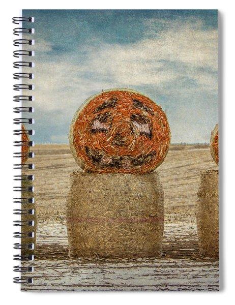 Country Halloween Spiral Notebook