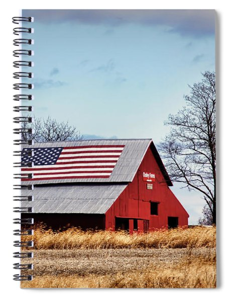 Country Pride Spiral Notebook