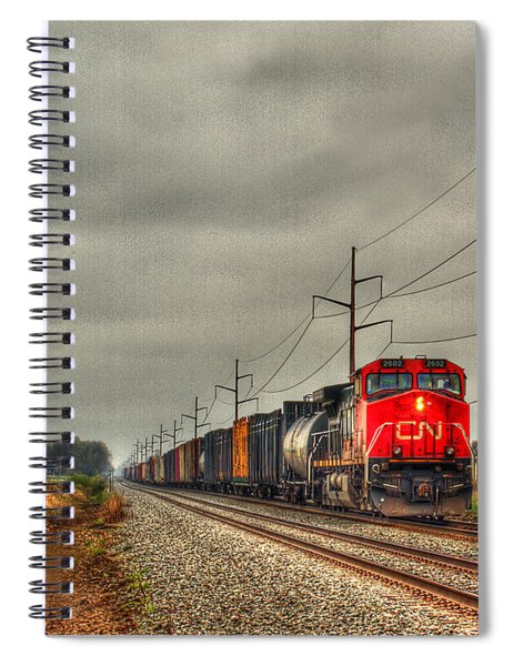 Country Train 1 Spiral Notebook