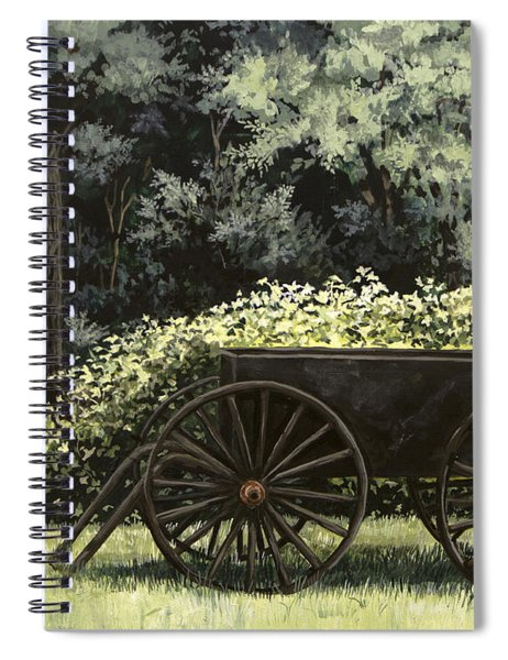 Country Wagon Spiral Notebook