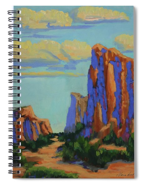 Courthouse Rock In Sedona Spiral Notebook