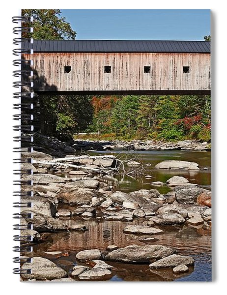 Covered Bridge Vermont 7 Spiral Notebook