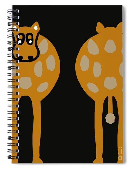Cow - Both Ends Spiral Notebook