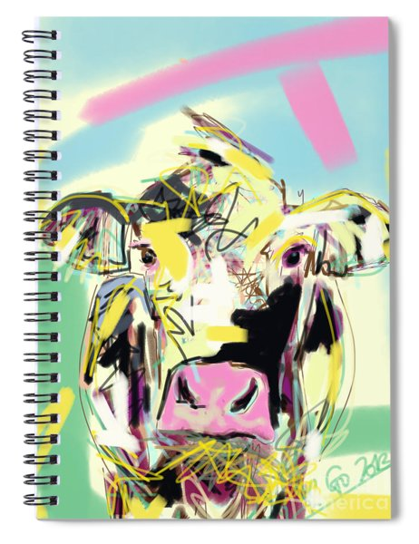 Cow- Happy Cow Spiral Notebook