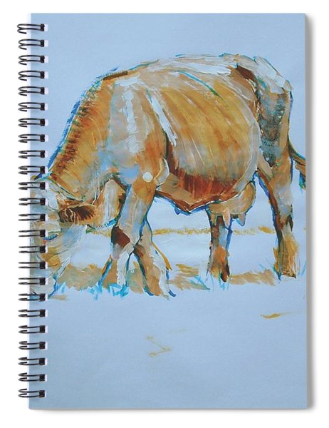 Cow Painting Spiral Notebook
