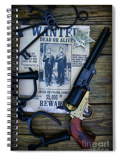 Cowboy - Law And Order Spiral Notebook