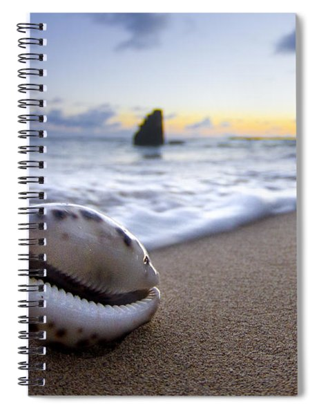 Cowrie Sunrise Spiral Notebook