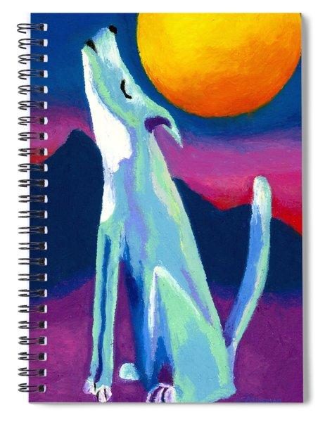 Coyote Azul Spiral Notebook