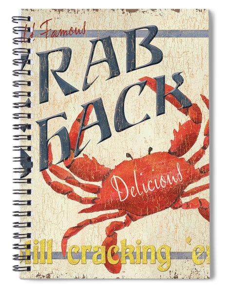 Crab Shack Spiral Notebook