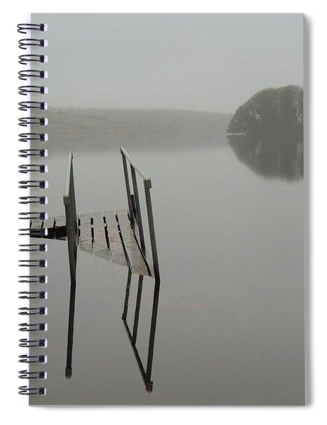 Crannog At Lake Knockalough Spiral Notebook