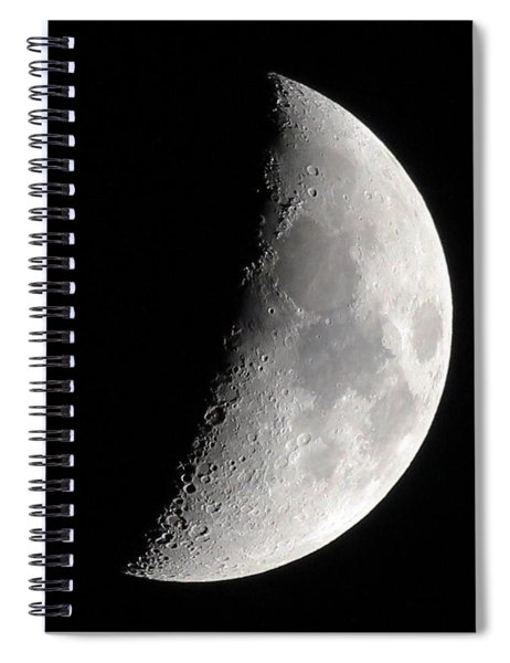 Craters Spiral Notebook