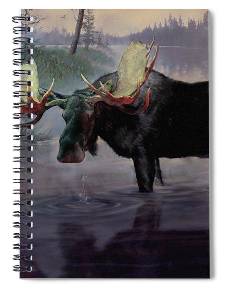 Craven Moose Spiral Notebook