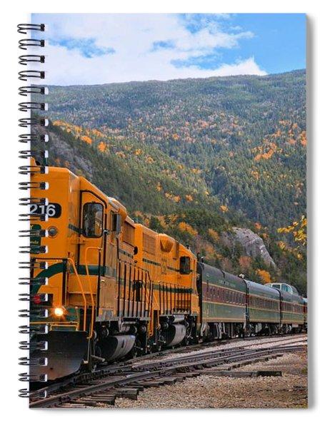 Crawford Notch Train Depot Spiral Notebook