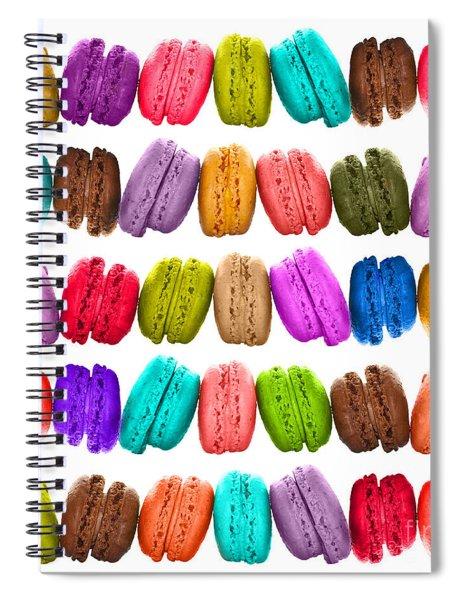 Crazy Macarons  Spiral Notebook