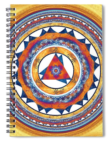 Creative Energy Spiral Notebook