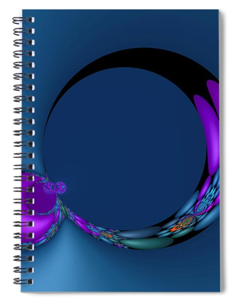Crescent Moons Spiral Notebook