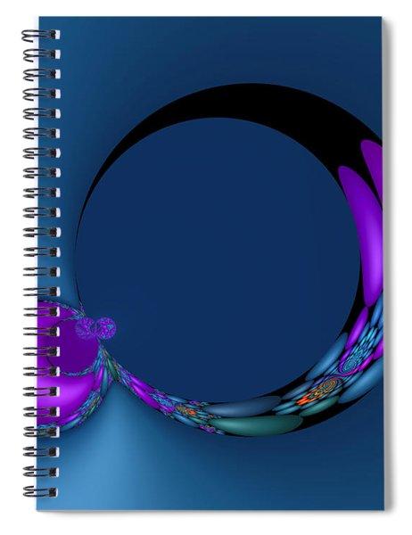 Crescent Moons Spiral Notebook