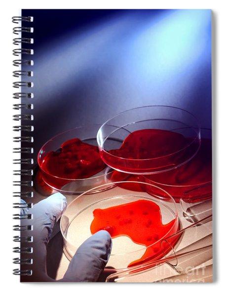 Crime Lab Spiral Notebook