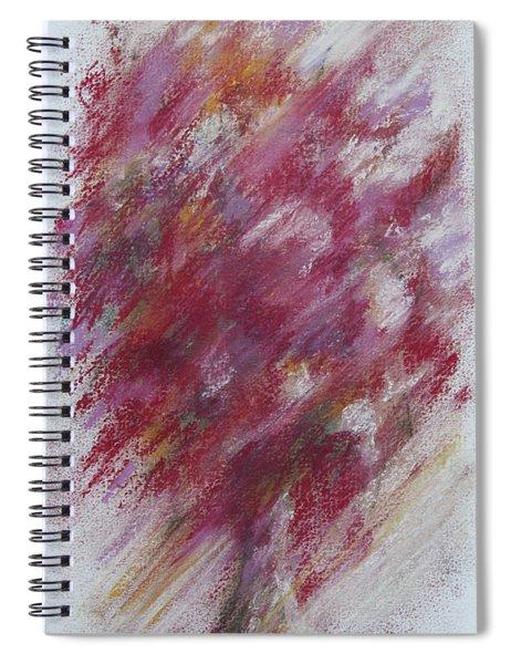 Crimson Bouquet Spiral Notebook
