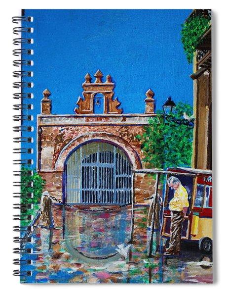 Capilla De Cristo - Old San Juan Spiral Notebook
