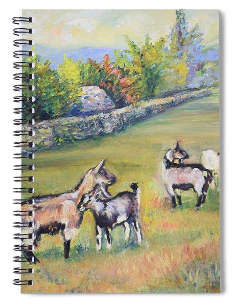 Croatian Goats Spiral Notebook