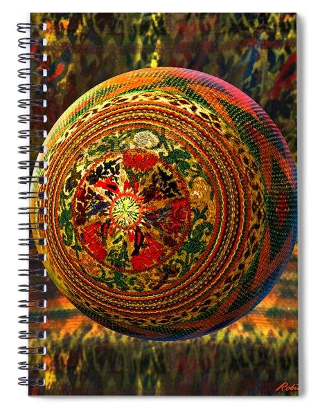 Croquet Crochet Ball Spiral Notebook