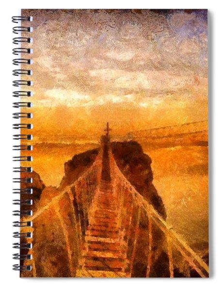 Cross That Bridge Spiral Notebook