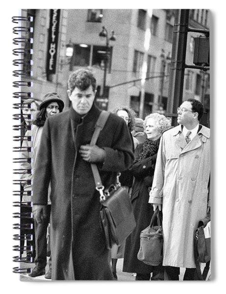 Crossing Manhattan Spiral Notebook