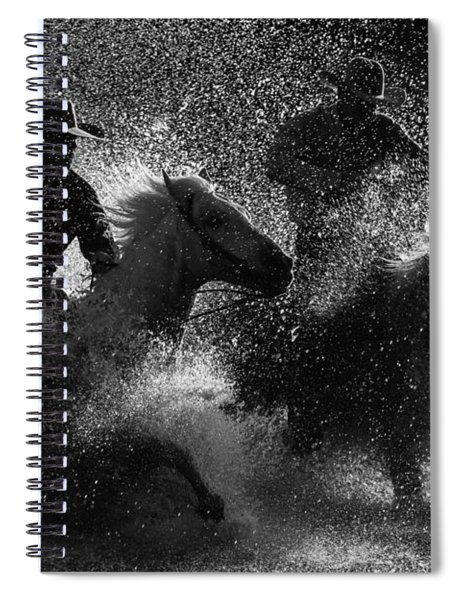 Crossing The River Spiral Notebook