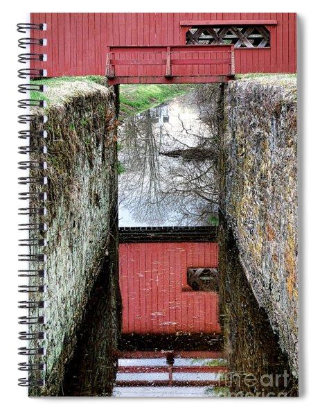 Crossings Spiral Notebook