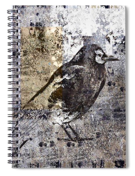 Crow Number 84 Spiral Notebook