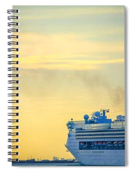 Cruise Ship Spiral Notebook