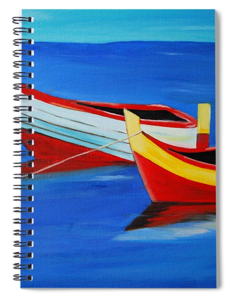Cruising On A Bright Sunny Day Spiral Notebook