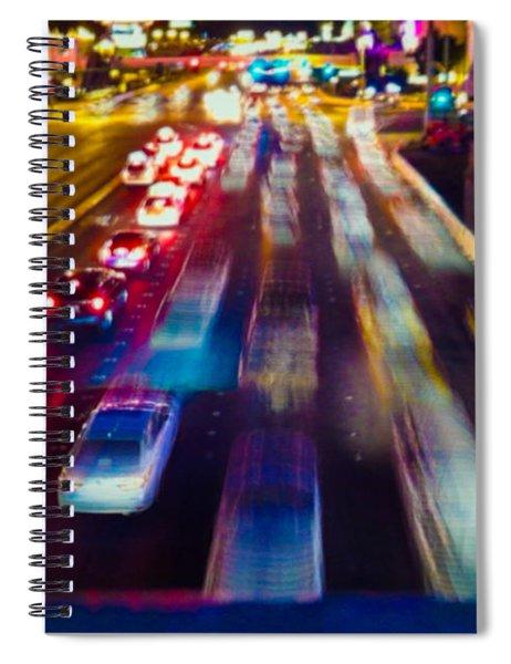 Cruising The Strip Spiral Notebook