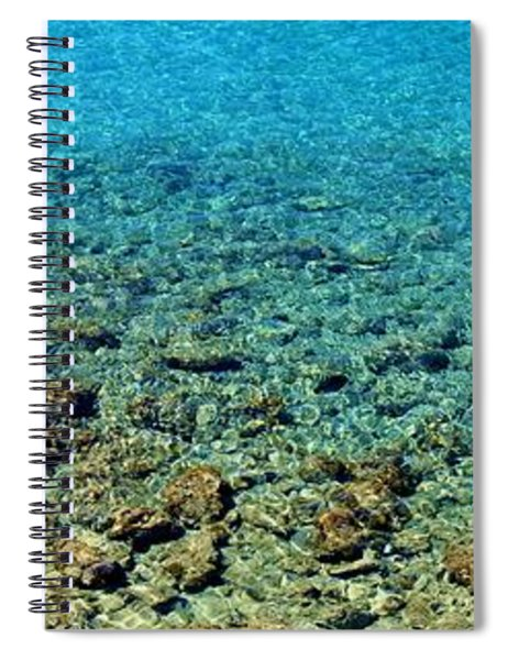 Crystal Blue Spiral Notebook