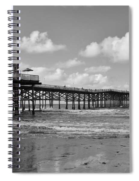 Crystal Pier In Pacific Beach Spiral Notebook