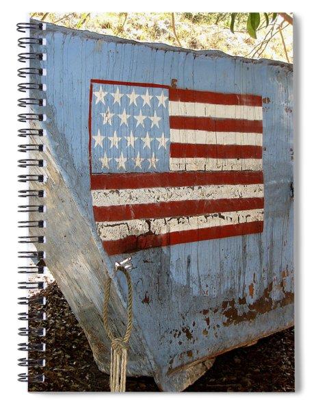 Cuban Refugee Boat 4 Spiral Notebook