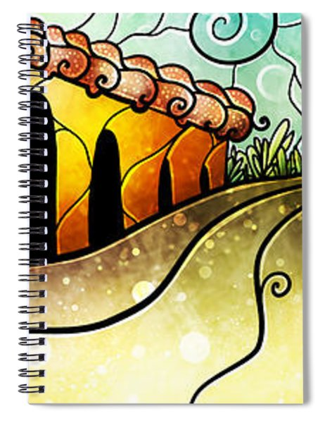 Que Rico Cuban Street Spiral Notebook