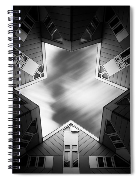 Cubic Star Spiral Notebook
