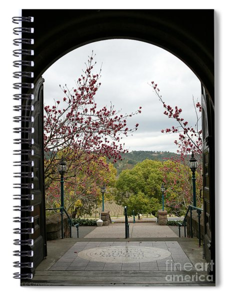 Culinary Institute Of America At Greystone Spiral Notebook
