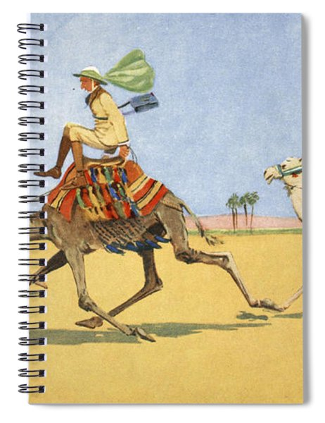 Cup And Ball-the Camels Favourite Game Spiral Notebook