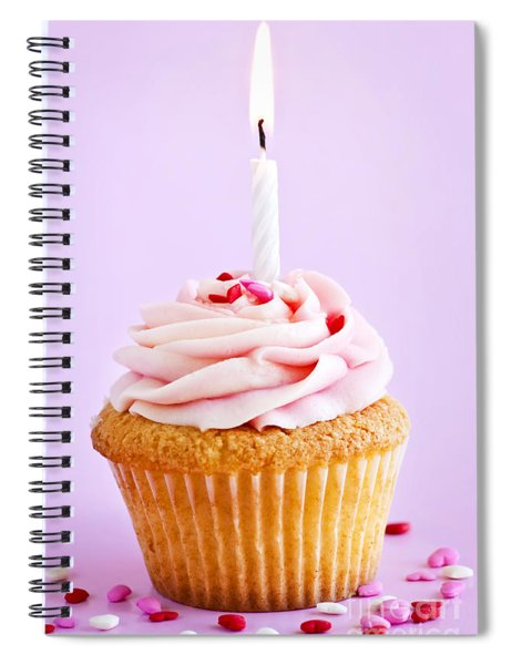 Cupcake Spiral Notebook