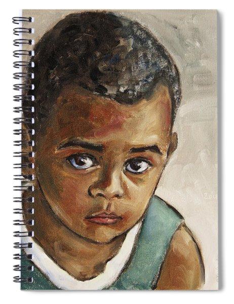 Curious Little Boy Spiral Notebook