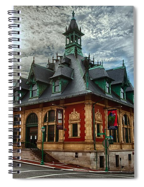 Customs House Museum Spiral Notebook
