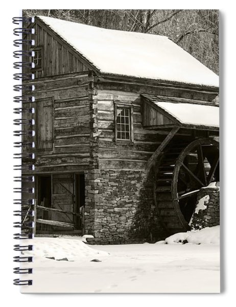 Cuttalossa In Winter Iv Spiral Notebook