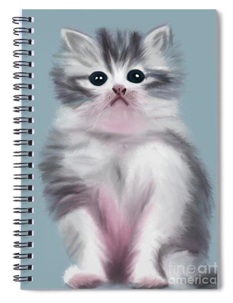 Cute Kitten Spiral Notebook