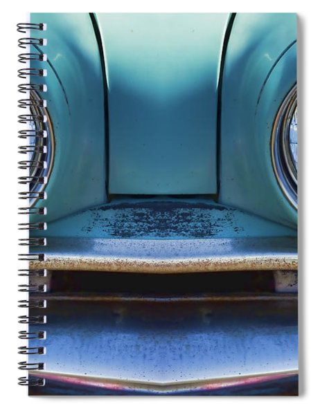 Cute Little Car Faces Number 1 Spiral Notebook